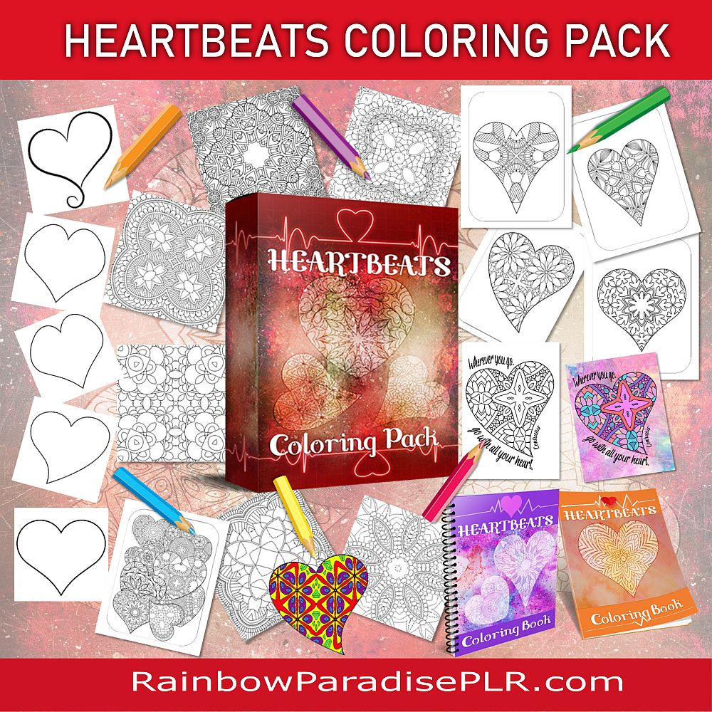 HeartBeats Coloring Pack
