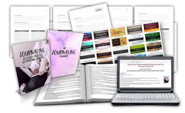 Journaling for Selfgrowth Planner Pack