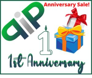 PIP Anniversary Sale